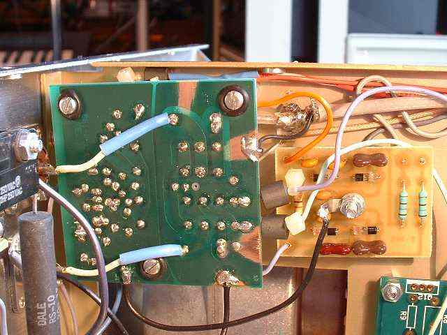 Modifications to the Ameritron AL-1200 Amplifier